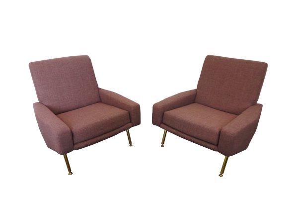 troika guariche airborne fauteuils 1950s vintage