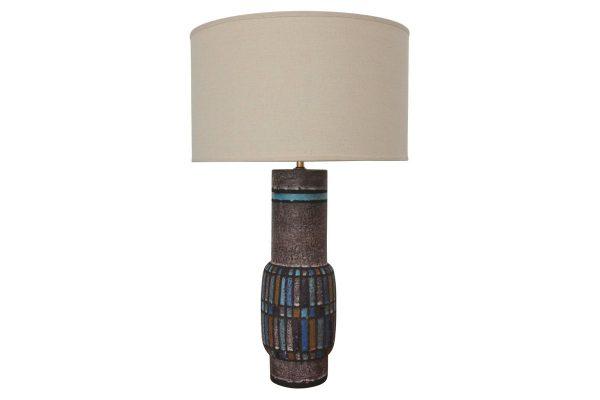 lampe céramique bitossi londi vintage