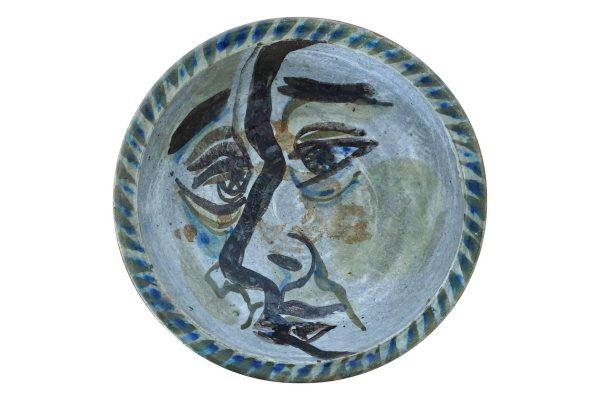 coupe céramique 50 vintage usa californie poterie