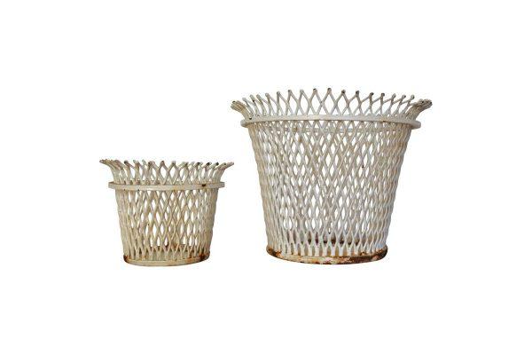 cache pots mategot vintage